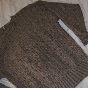 Sweaters - 100% light brown Cashmere sweater